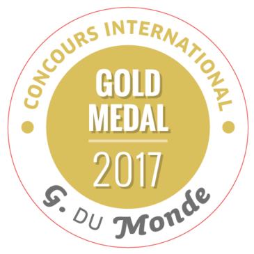 Le Secret des Marchands 2011 Médaille d'Or au Concours des Grenaches du Monde