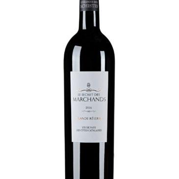 Une fierté pour le domaine. Le Secret des Marchands, Vin de Pays des Côtes Catalanes 2016